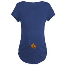 goldfish Maternity T-Shirt