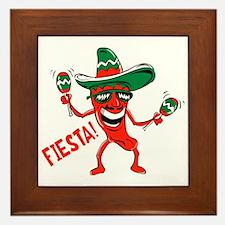 Fiesta Framed Tile