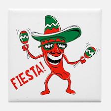 Fiesta Tile Coaster
