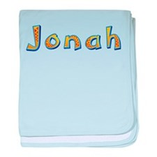 Jonah Giraffe baby blanket