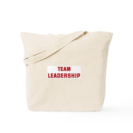 Team LEADERSHIP Tote Bag