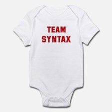 Team SYNTAX Infant Bodysuit