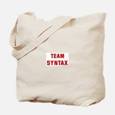 Team SYNTAX Tote Bag