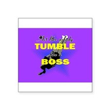 Tumble lika a Boss Cheerleader Sticker