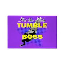 Tumble lika a Boss Cheerleader Magnets