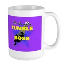 Tumble lika a Boss Cheerleader Mugs