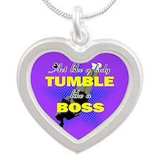 Tumble lika a Boss Cheerleader Necklaces