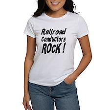 Railroad Conductors Rock ! Tee