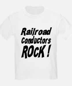 Railroad Conductors Rock ! T-Shirt