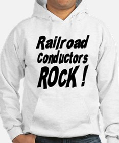 Railroad Conductors Rock ! Jumper Hoody