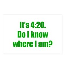 It's 4:20 Postcards (Package of 8)