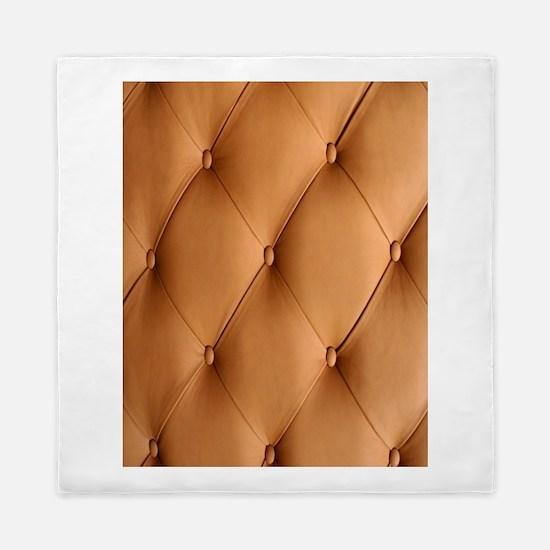 Leather Texture Queen Duvet