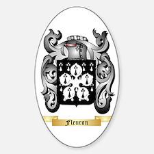Fleuron Sticker (Oval)