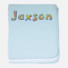 Jaxson Giraffe baby blanket