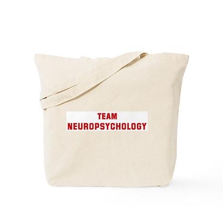 Team NEUROPSYCHOLOGY Tote Bag