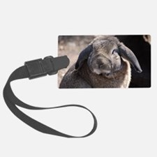 Lop Eared Rabbit Luggage Tag