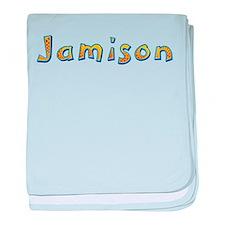 Jamison Giraffe baby blanket