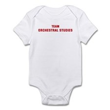 Team ORCHESTRAL STUDIES Infant Bodysuit