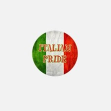Italian Pride Mini Button