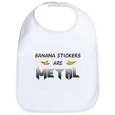 Banana Stickers Bib