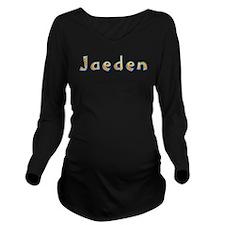 Jaeden Giraffe Long Sleeve Maternity T-Shirt