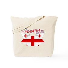 Georgia ribbon Tote Bag