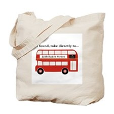 Take to 221b Tote Bag