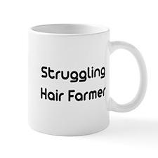 Struggling Hair Farmer Mug