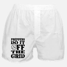Preppers Do It Off The Grid Boxer Shorts