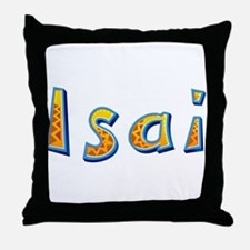 Isai Giraffe Throw Pillow
