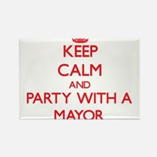 Keep Calm and Party With a Mayor Magnets