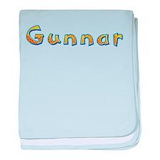 Gunnar Giraffe baby blanket