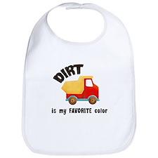 Dirt is my Favorite Color Bib