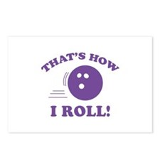 That's How I Roll! Postcards (Package of 8)