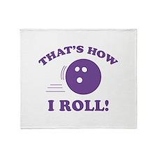 That's How I Roll! Stadium Blanket