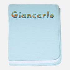Giancarlo Giraffe baby blanket