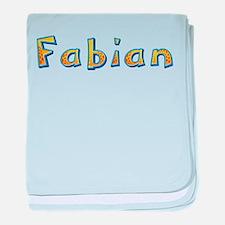 Fabian Giraffe baby blanket