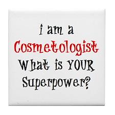 cosmetologist Tile Coaster