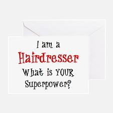 hairdresser Greeting Card