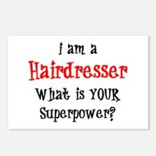 hairdresser Postcards (Package of 8)