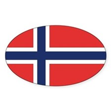 Norway Rectangle Decal