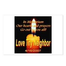 In Memorium Love Thy Neighbor Postcards (Package o