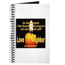 In Memorium Love Thy Neighbor Journal