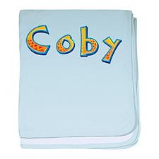 Coby Giraffe baby blanket