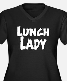 lunch_lady_01.png Plus Size T-Shirt