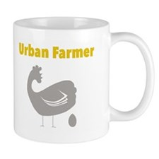 Cute Chickens knitting yarnagogo urban homestead Mug