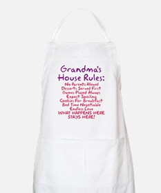 Grandma's House Rules Apron