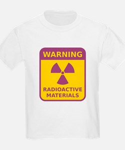 Radioactive Materials Warning Sign T-Shirt