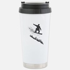 Snowboarder Stainless Steel Travel Mug