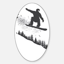 Snowboarder Decal